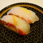 はま寿司 - 愛媛県産昆布じめ風真鯛