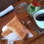 サテンドール喫茶店 - モーニングセット