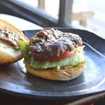 ととらべべハンバーガー - 人気No.2!! ととらバーガー