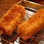 大阪串かつ 二代目 殿金 - チーズ