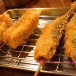 大阪串かつ 二代目 殿金 - あじとチーズ