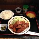 三河屋 - H26.10 いつものミックス定食