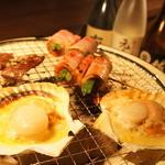 炭火居酒屋 D' rise - 料理写真:おしゃれな空間で七輪焼がたのしめます