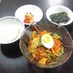 韓国家庭料理 たんぽぽ - 激辛ビビン麺セット