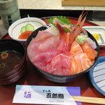 五郎鮨 - ランチ「日替り刺身丼 1,100円」