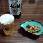 広楽苑 - ビールとお通し!