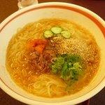 3184019 - 和食屋さんらしい繊細なスープの冷麺