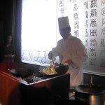 Chuugokuryouriboukairou - 料理長の鍋ふり・・おみごと