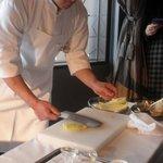 Chuugokuryouriboukairou - 白菜の芯は包丁の側面で1度たたく