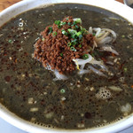 熊谷 - 担々麺(黒)