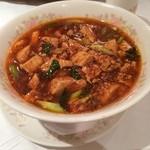 31852174 - マーボードーフスープそば(麻婆豆腐麺)