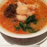 31852189 - 挽き肉と海老入り坦々麺(辛め)