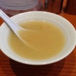 TORISOBA 雄 - 白湯スープ2014.10