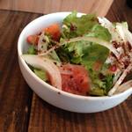 香樹 - セットのサラダ