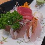 地魚・定食 祥天丸漁業 - 地魚だけの刺身定食¥1000(税込)