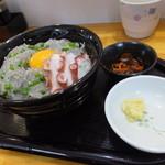 地魚・定食 祥天丸漁業 - 生しらす丼・大¥1000(税込)