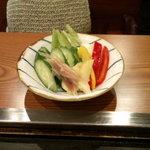 しらかば - お新香(300円)
