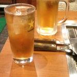しらかば - ウーロンハイ&生ビール