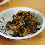 九州 筑豊ラーメン 山小屋 - 高菜