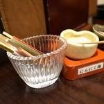 和風厨房 りゅう扇 - 爪楊枝と
