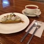 31861426 - アールグレイ・スイートポテトと紅茶