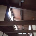 喫茶ぶーげん - 高い天井
