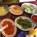 プリンス インドレストラン - サラダ