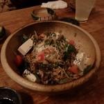 ひと手間キッチン ここち - サラダちゃんぽん麺バリバリ大根サラダ