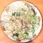 アヤパニ - あさりと青菜の塩焼きそば 1200円