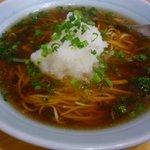 中華食堂 一楽 - 梅大根ラーメン