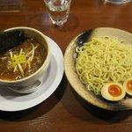 つけ麺や 辰盛 - ・「味玉つけ麺 240g(\780)」
