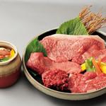 1985年創業 苫小牧老舗焼肉 金剛園 - 料理写真:ぜいたく盛り