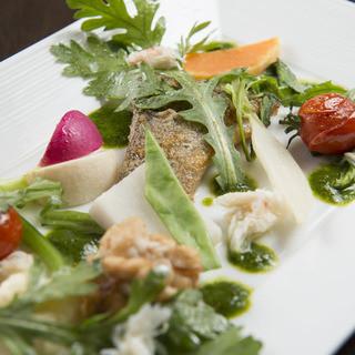 【有機野菜】新鮮な鎌倉野菜使用