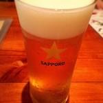 tom's kitchen - 生ビール