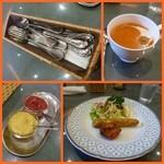 インド料理 ショナ・ルパ - ショナランチ1200円を頂きました。