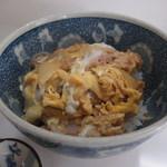 きがる食堂 - ランチ:ミニカツ丼冷しセット550円