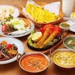 ナマステ タージ・マハル - インド・薬膳料理 食べ放題3500円のプランです!