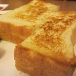 杉本珈琲店 - 白神食パンのトースト