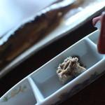 31877929 - うるか(手前)と甘露煮(奥)