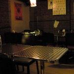 タイ食堂 ジャルアン - 店内です 画像が暗くてすみません