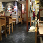 武膳 - 武膳 福岡パルコ店 店内 この日の一客目でした