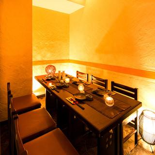 新宿で完全個室でゆったり飲みたいお客様におすすめです!