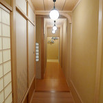 味 ふくしま - 皆さんが撮られる廊下。やっぱり綺麗なので私も一枚。