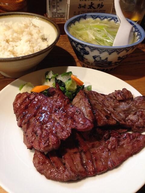 旨味太助 - 牛たん定食 \1300