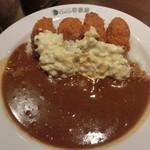 CoCo壱番屋 - 料理写真:カキフライカレー クリーミタルタルソース