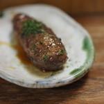 秋田屋 - 220えん『特製たたき 肉だんご』2014.10