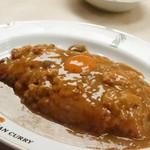 インデアンカレー - ご飯大盛り、ルー大盛り、タマゴ