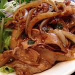 阿里城 - 中華風豚焼き肉丼 アップ