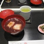 虎屋菓寮 - こし餡のお汁粉