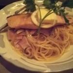 BAR mix 226 - 秋鮭とキノコのちゃんちゃん焼きスパゲティー